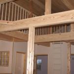 2階ホールからロフトを眺め・・・