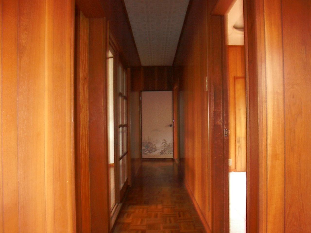 今まではこの廊下で部屋が分断・・・