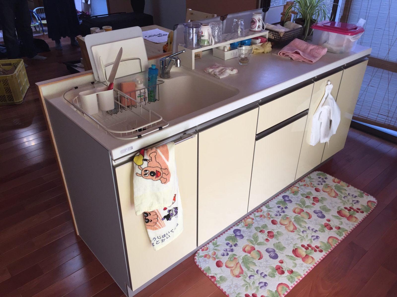 キッチン、シンク調理台